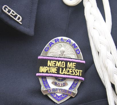 Honor Guard Patch on a Uniform